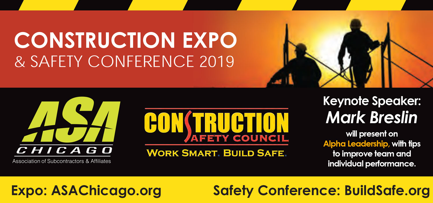 2019 Construction Expo Safety Conference Banner